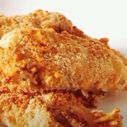Air Fryer Garlic Parmesan Chicken