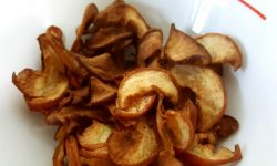 Air Fryer Fried Apple Chips