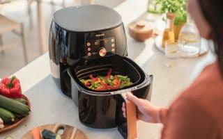 cooking with air fryer
