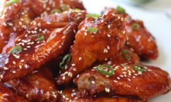 Air Fryer Korean Fried Chicken Wings