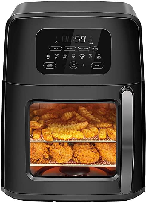 Chefman 11.6 Quart Auto-Stir Air Fryer Oven