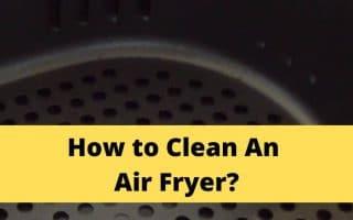 clean an air fryer