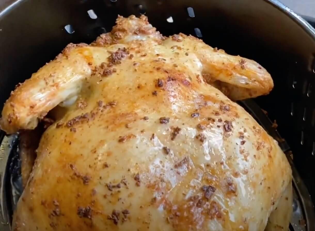 whole chicken in air fryer
